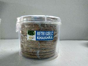 Tiny Special Methi Garlic Khakhra
