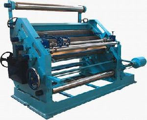 High Speed Single Paper Corrugating Making Machine