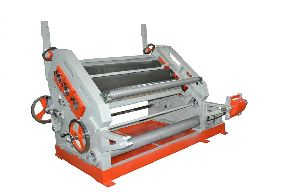 Oblique Type Single Face Paper Corrugating Making Machine