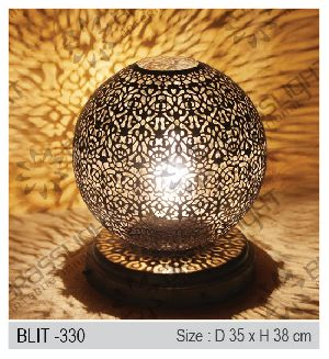 Brass Islamic Table Lamps