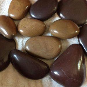 Mixed Brown Pebbles