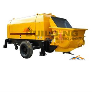 Mobile Diesel Concrete Trailer Pump
