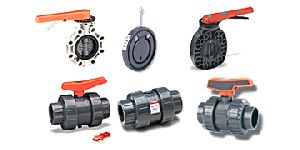 Plastic Valves, Plastic Valves Fittings