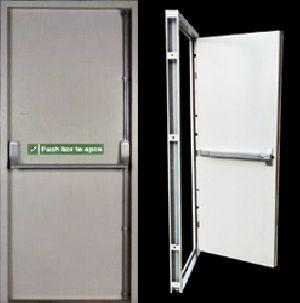 Single Fire Escape Doors