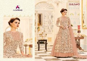 Aashirwad Veeda Premium Georgette Long Suits