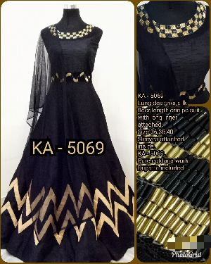 Ka Designer Long Gown