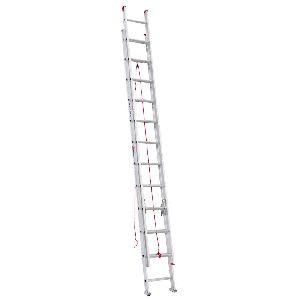 Aluminum D-rung Extension Ladder