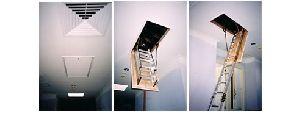 Folding Aluminium Ceiling Ladders