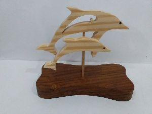 Decorative Wooden Fish