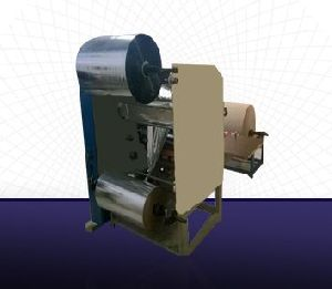 Roll To Roll Lamination With Slitting Machine