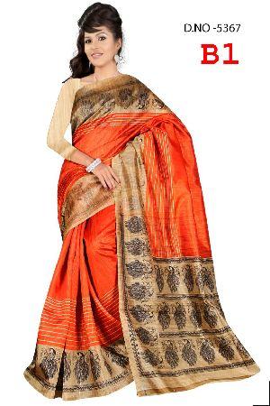 Bhagalpuri Jute Silk Sarees