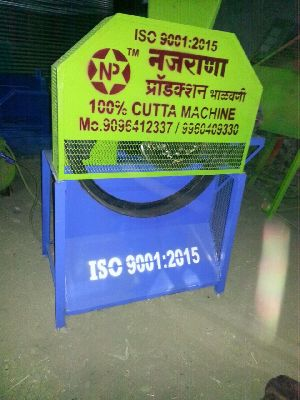 Nazrana 2 Roller Steel Toka Gear Chaff Cutter Machine .