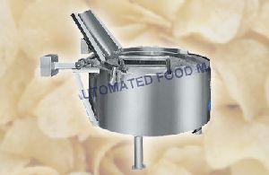 Potato Chips Fryer Machine Circular Model