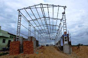 Structural Steel Shed Including Civil Works
