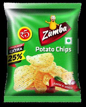 Cheese & Onion Potato Chips