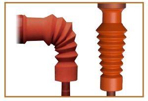 Straight Flexible Insulation Boot: