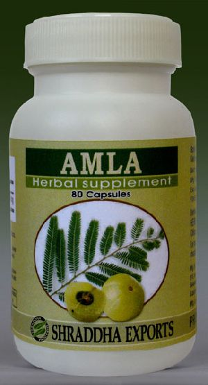 Amla Capsules (phyllanthus Emblica Fruits Powder Capsules)