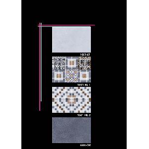 Bathroom Wall Digital Glazed Ceramic Wall Tiles 1001