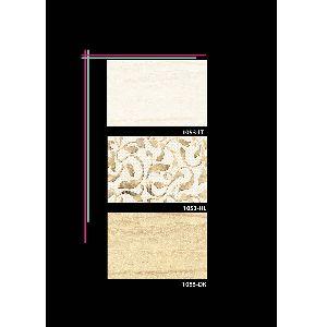Decorative Interior Ceramic Wall Tiles 1053