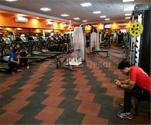 Gym Flooring Rubber Tiles