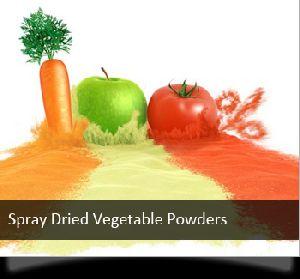 Spray Dried Vegetable Powders