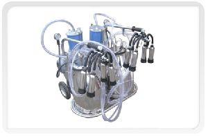 Double Bucket Cow Milking Machine