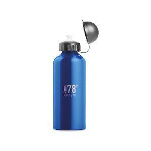 Aluminium single layer drinking bottle