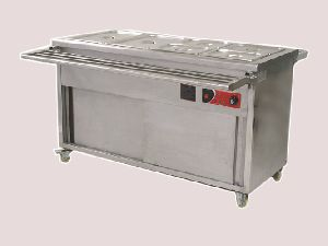 Hot Bain Marie Counter