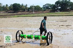 Manual Seeder machine for Rice.
