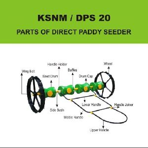 Paddy Seed drill machine