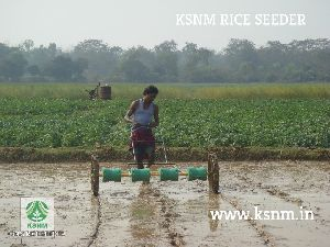 Quick rice seeding machine