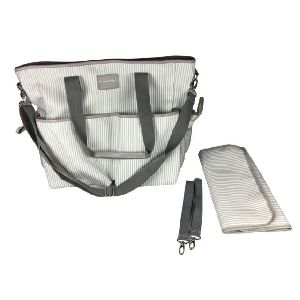 This lot of Premium Quality 2 in 1 Diaper Bag/Functional Tote with changing pad