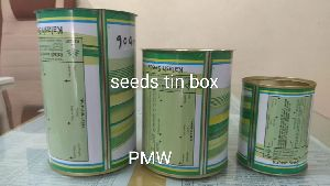 Seed Packing Tin Boxes