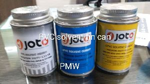 Solvent Tin Container