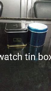 Watch Tin Container