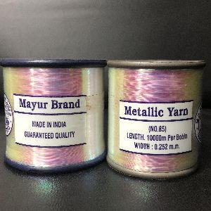 Rainbow Metallic Yarns