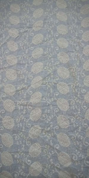 Cotton Embroidered Fabric 06