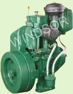 High Speed Single Cylinder Air Cooled
