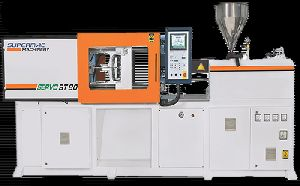 HYDRAULIC CLAMPING INJECTION MOULDING MACHINE
