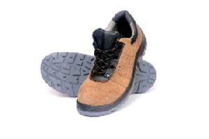 Zain Suede Leather Safety Shoes