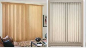 Colored Roller Vertical Window Blinds