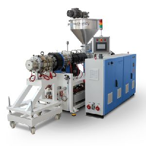 PVC pipe extrusion machinery