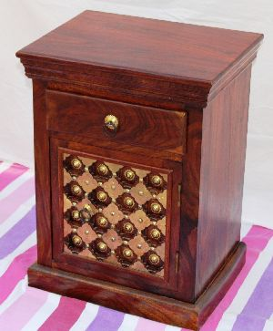 BDS - BKH Wooden Bedside Table