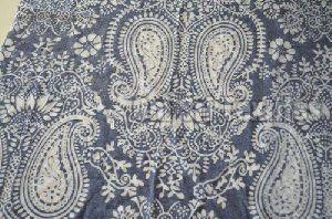 Polyester Cotton Burnout Jersey Fabric