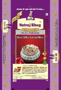 Natraj Bhog IR-64 Parmal Sorted Rice