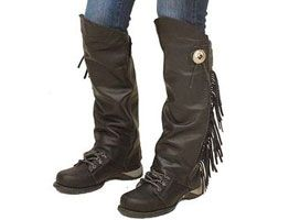 Mens Dotted Half Chaps