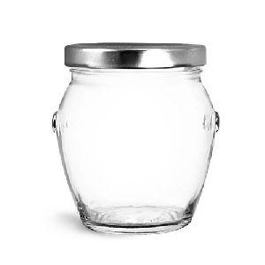 Honey Glass Pot Jars