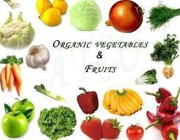 organic fruits & vegetables