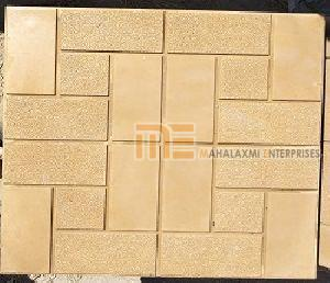 Glossy Finish Marmura Biscuit Parking Tile