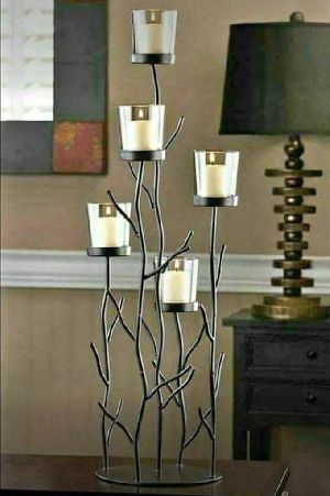 Iron Candle Stand 02